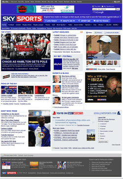 Skysports Homepage small